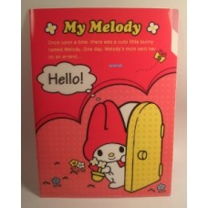 Sanrio My melody A4 2-layer file/folder-red