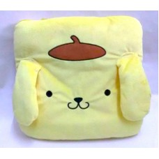 Sanrio Pom Pom Purin/pudding dog throw pillow/cushion/blanket-yellow
