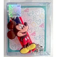 Mickey mouse figure nail clippers w/chain
