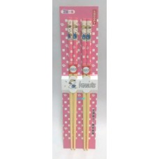 Snoopy bamboo chopsticks set/2 pairs-pink