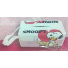 Snoopy/Peanuts and woodstock hanging tissue box/case/bag-pink