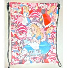 Disney Alice in wonderland big drawstring bag