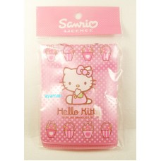 Sanrio Hello Kitty ID card holder/neck strap-basket