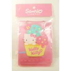 Sanrio Hello Kitty ID card holder/neck strap-ice cream