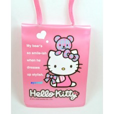 Sanrio Hello Kitty ID card holder/neck strap-beaar