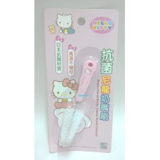 Sanrio Hello Kitty baby/kid soother/pacifier brush cleaner