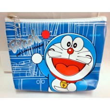 Doraemon zipper cosmetic/makeup/pencil bag/pouch-brush