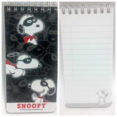 Snoopy/Peanuts mini notebook-black
