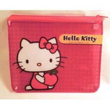 Sanrio Hello Kitty flat cosmetic/makeup/pencil bag/pouch-apple