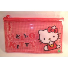 Sanrio Hello Kitty flat cosmetic/makeup/pencil bag/pouch-mouth