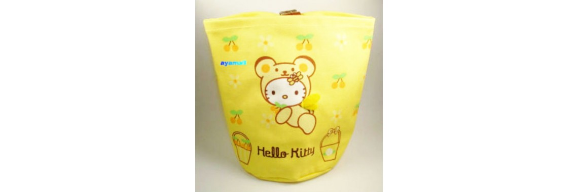 Japan Hello kitty storage bag~Bee