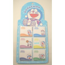 Doraemon mini note/memo pad/writing board set