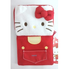 Japan Sanrio Hello Kitty plush coin/ticket bag/wallet-red