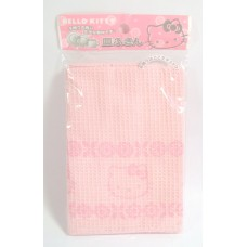 Sanrio Japan Hello kitty fiber dishtowel/dishcloth-pink