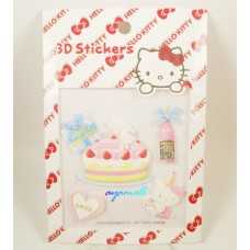 Sanrio Japan Hello kitty 3D stickers-birthday party