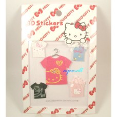 Sanrio Japan Hello kitty 3D stickers-clothes