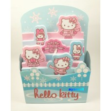 Sanrio Japan Hello kitty 3-layer memo holder-blue