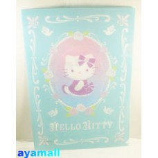 Sanrio Japan Hello Kitty A4 clean file/folder-blue