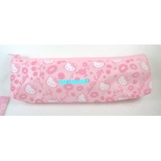 Sanrio Japan Hello kitty pencil/makeup bag-pink/flower