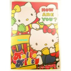 Sanrio Japan Hello Kitty A4 2-page file/folder-call
