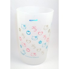 Sanrio Japan Hello kitty plastic cup-white