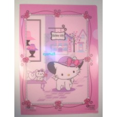 Sanrio Japan charmmy kitty A4 clean file/folder-hat