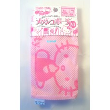 Sanrio Japan Hello kitty meshed bag-18*25cm-M/pink