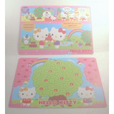Sanrio Japan Hello kitty plastic pc mouse pad/board-2pcs