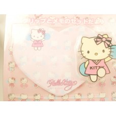 Sanrio Japan Hello Kitty memo pad/note w/clip