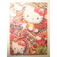 Sanrio Japan Hello Kitty A4 file/folder-bling/sit