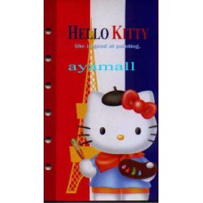 Sanrio Japan Hello Kitty sticker book for organizer-France