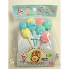 Japan Doraemon mini plastic fork set
