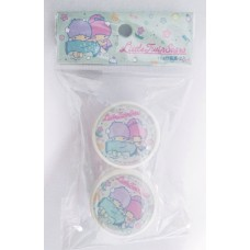Sanrio Little twin stars/kiki & lala 10g cream case set/2pcs