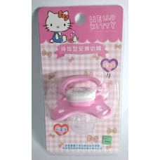 Sanrio Hello Kitty baby/kid silicone pacifier/soother w/cover-newborn/B