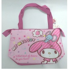 Sanrio my melody insulated hand bag/tote-pink