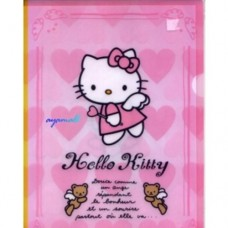 Sanrio Hello Kitty A4 file/folder-Angle
