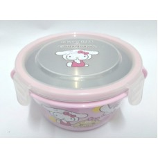 Sanrio Hello Kitty & cinnamoroll heat-proof bowl-pink
