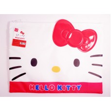Sanrio Hello kitty document zipper bag-face