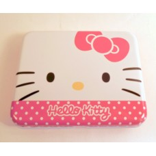 Sanrio Hello Kitty memo pad w/case-red