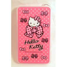 Sanrio Hello Kitty memo pad w/case-A