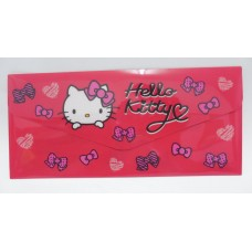 Sanrio Hello Kitty document bag/pouch w/pocket-red