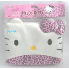 Sanrio Hello kitty car blanket/throw pillow/cushion-leopard