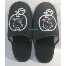 Sanrio Japan Hello kitty disposable slippers-adult/bk