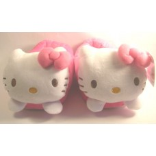 Sanrio Hello kitty plush slippers-pink