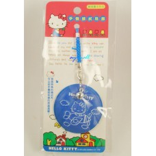Sanrio Hello kitty phone strap/screen cleaner-blue