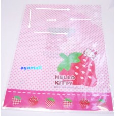 Sanrio Hello kitty A4 clean file/folder w/card pocket-stawberry