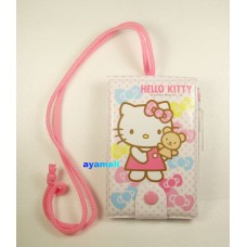 Sanrio Hello Kitty notebook/memo w/pencil/eraser-bear