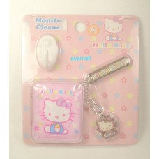 Sanrio Hello Kitty monitor cleaner/keychain
