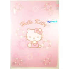 Sanrio Hello kitty A4 3-layer clean file/folder-sit