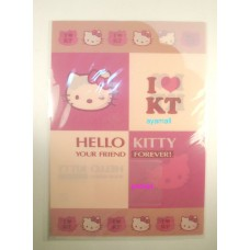 Sanrio Hello kitty A4 clean file/folder w/card pocket-eye